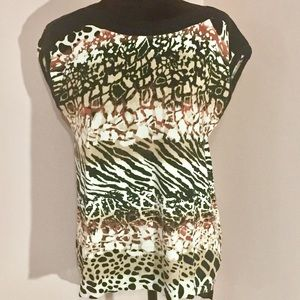 Dana Bachman Animal Print Top